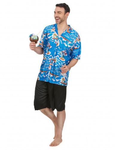 Déguisement touriste Hawaïen homme-1