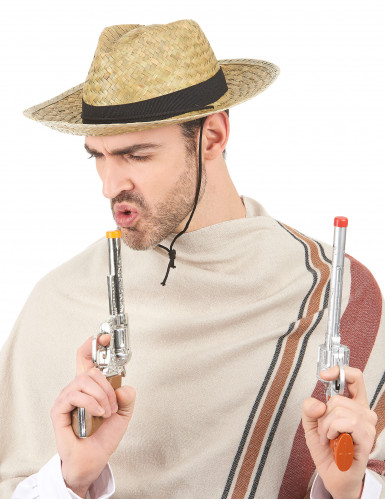 Chapeau cowboy paille adulte-1