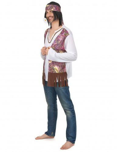 Déguisement hippie homme-1