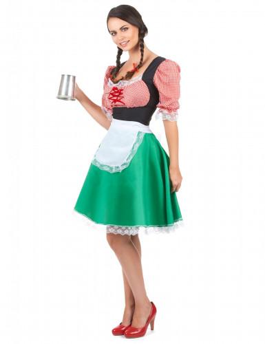 Déguisement bavaroise colorée femme-1