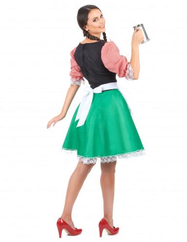 Déguisement bavaroise colorée femme-2