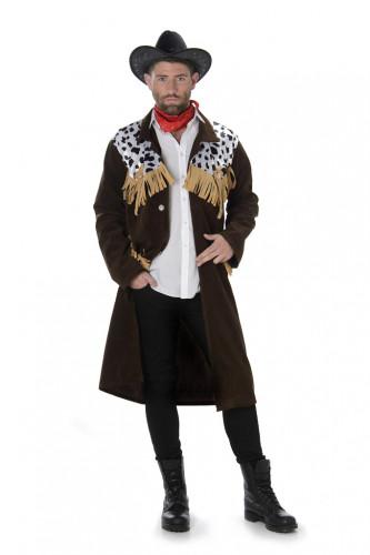 Déguisement veste de cowboy homme