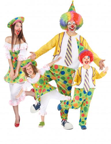 Déguisement de famille clown