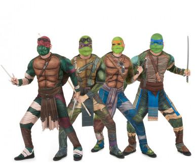 Déguisement de groupe de Tortues Ninja™ adultes
