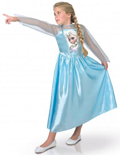 Déguisement Elsa Frozen™ bleu fille