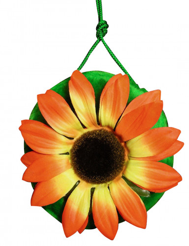 Sac hippie vert avec fleur