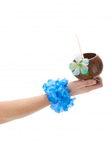 Bracelet bleu Hawaï adulte-1