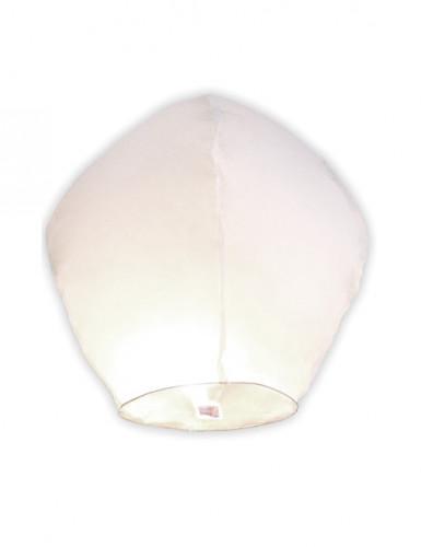 Lanterne volante blanche 86 cm