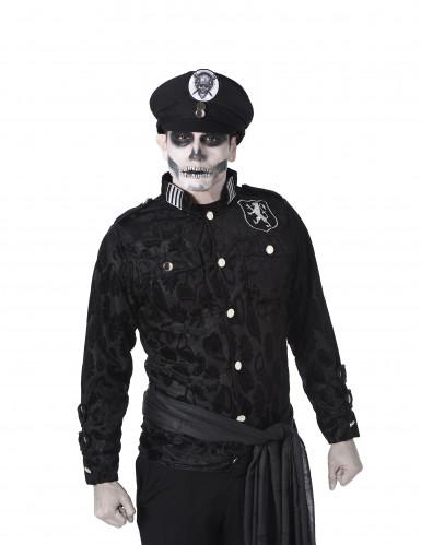 Déguisement officier zombie homme-1