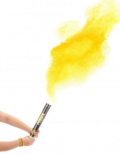 Canon à poudre jaune 40 cm