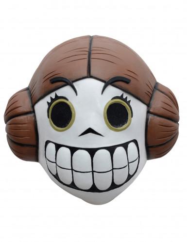 Masque Princesse de l'espace Dia de los muertos adulte Calaveritas™