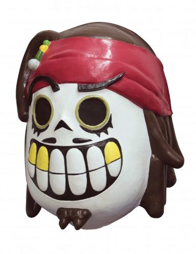 Masque pirate dia de los muertos adulte Calaveritas™