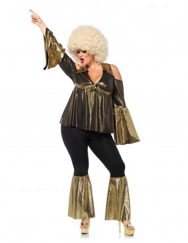 Déguisement diva disco grande taille femme