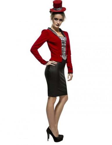Déguisement vampire rouge sexy femme Halloween-1