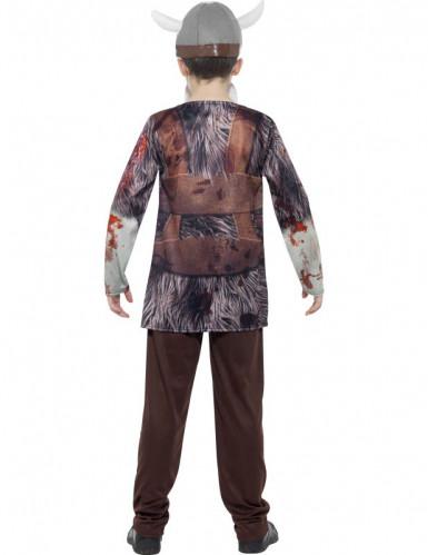 Déguisement zombie viking enfant Halloween-1