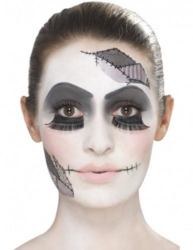 Kit maquillage poupée adulte Halloween-2
