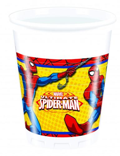 8 Gobelets en plastique Ultimate Spiderman™