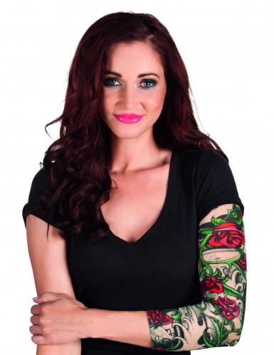 Manche tatouages roses femme