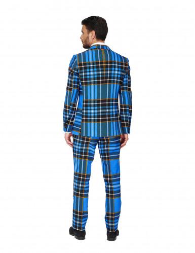 Costume Mr. Tartan bleu écossais homme Opposuits™-3