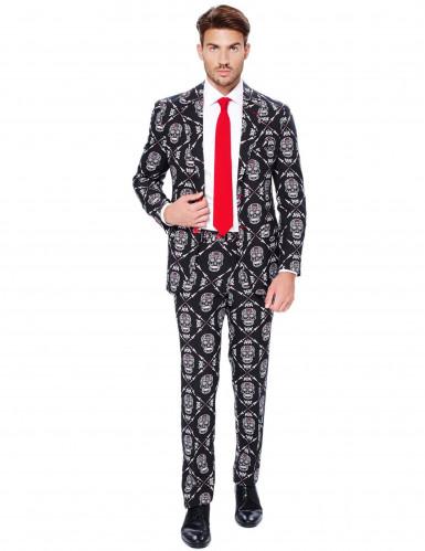 Costume Mr. Skeleton homme Opposuits™ Dia de los muertos
