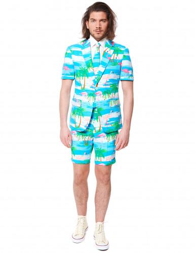 Costume d'été Mr. Flamingo homme Opposuits™-1