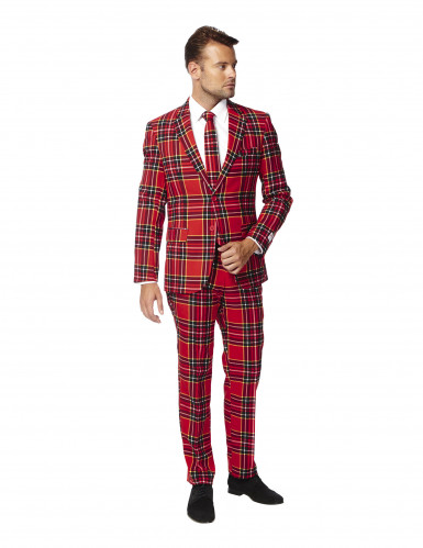 Costume Mr. Tartan rouge écossais homme Opposuits™-1