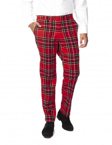 Costume Mr. Tartan rouge écossais homme Opposuits™-2