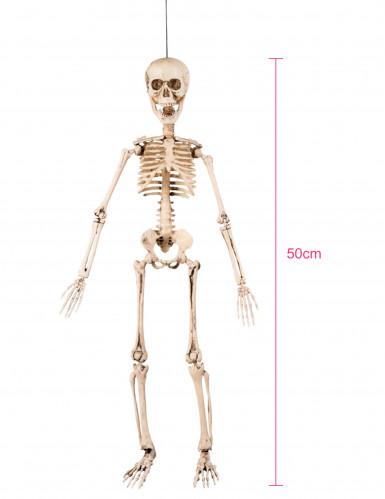 Décoration articulée squelette 50 cm Halloween-4