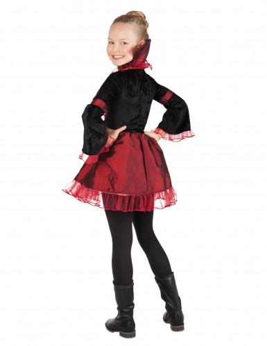Déguisement impératrice vampire fille Halloween-1