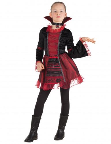 Déguisement impératrice vampire fille Halloween