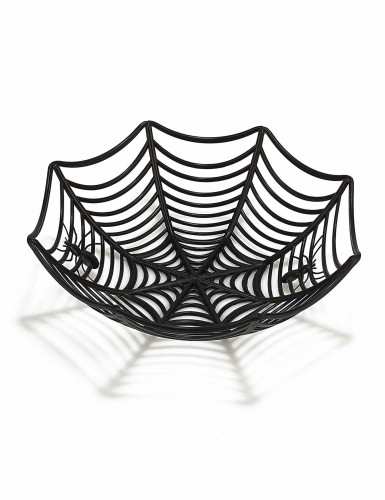 Saladier toile d'araignée 27 cm Halloween