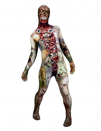 Déguisement monstre greffé adulte Morphsuits™ Halloween