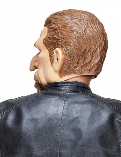 Masque humoristique en latex Johnny adulte-1