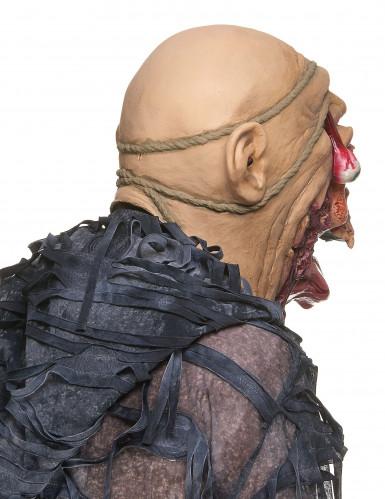 Masque latex zombie dévoreur adulte-1