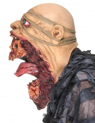 Masque latex zombie dévoreur adulte-4