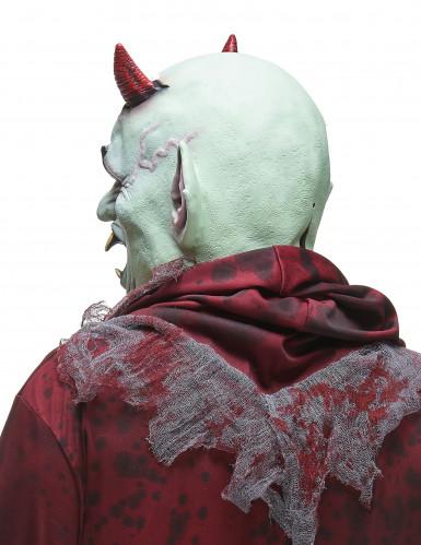Masque latex diable en colère adulte-1