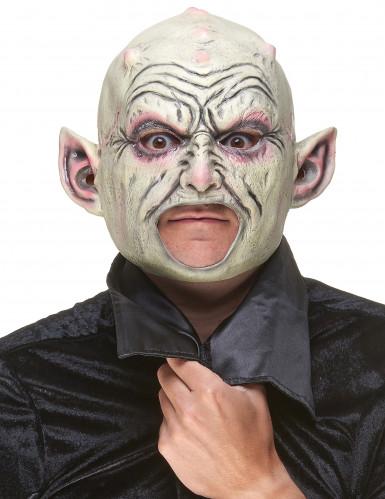 Masque latex gnome à pustules adulte