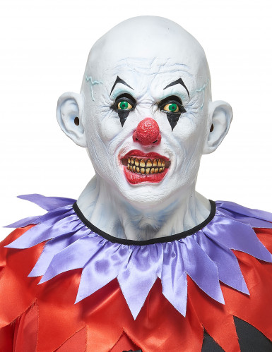 Masque latex clown terrible adulte