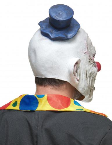 Masque latex clown hideux adulte-1