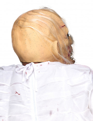 Masque latex viellard cadavérique adulte-1