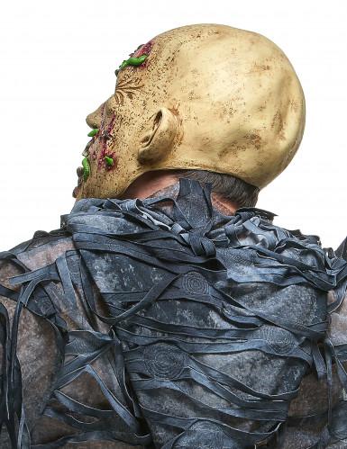 Masque latex zombie putréfié adulte-1