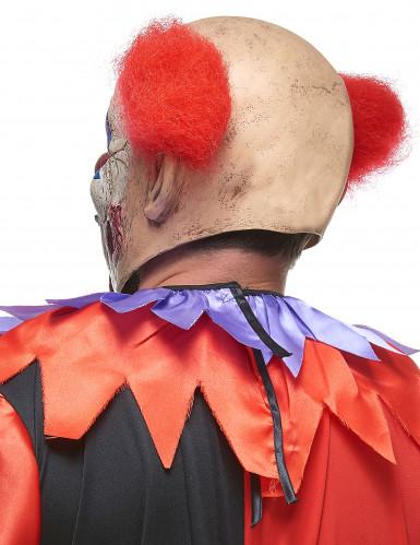 Masque latex clown des ténébres adulte-1