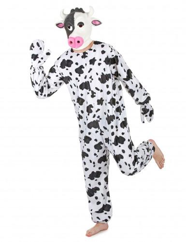 Déguisement vache avec masque adulte-1