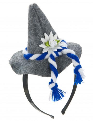 Serre-tête mini chapeau Bavarois adulte-1