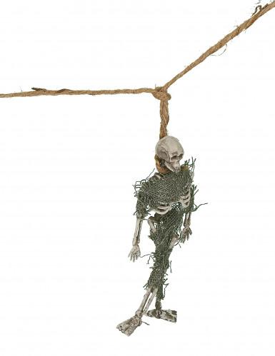 Guirlande squelette 1 m Halloween-1