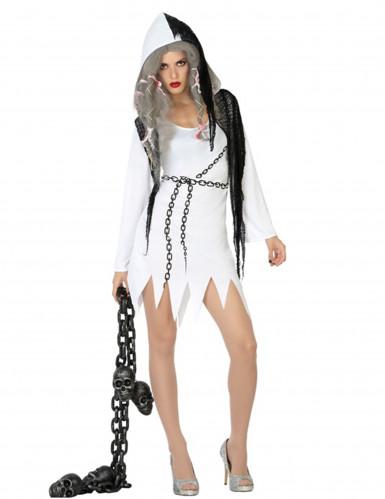d guisement fantome sexy femme halloween deguise toi achat de d guisements adultes. Black Bedroom Furniture Sets. Home Design Ideas