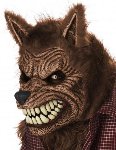 Masque animé loup garou adulte