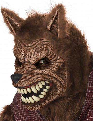 Masque animé loup garou adulte-2