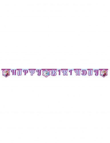 Guirlande Happy Birthday La Reine des Neiges Flocons™ 2,10 m-1