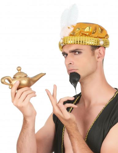 Coiffe turban doré sultan adulte-1